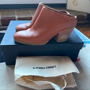 Rachel Comey Mars whiskey leather mules size 6.5